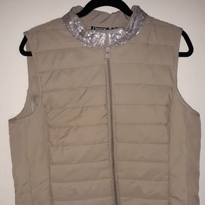Zip Up Vest Jacket